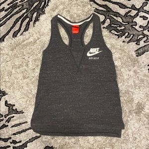 Nike Just Do It Space Gray Racerback Tank